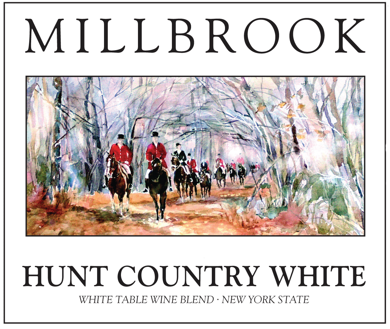 hunt country white