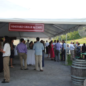 vineyard grille tent