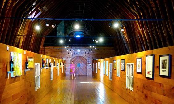 art gallery loft